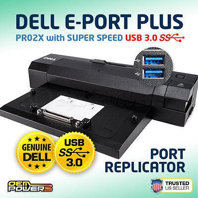 Genuine Dell Docking Station Replicator E Port Plus PR02X
