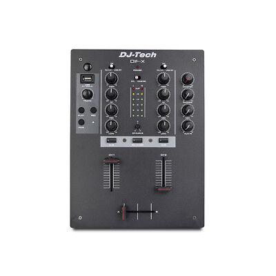 DJ Tech DIF-X - Mixer per DJ ()