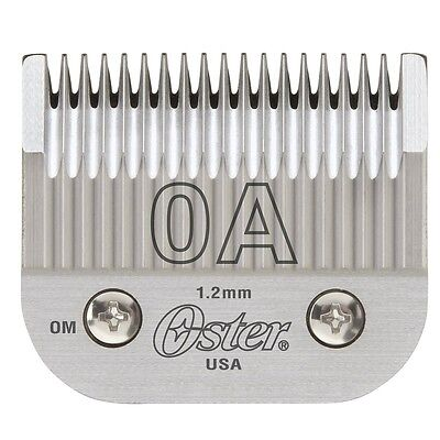 New Oster Detachable Replacement Blade Size 0A Fits Classic 76 #76918-056 - New Oster Classic 76 Blade