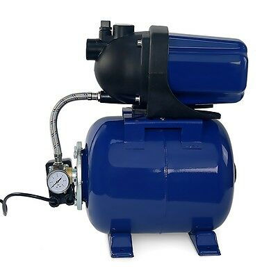 1.6hp 1 Shallow Well Garden Jet Water Pump Booster Tank W Pressure Switch 110v