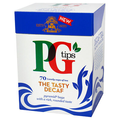 - PG Tips Decaf Tea Bags - 70 count