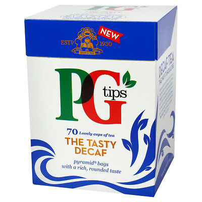PG Tips Decaf Tea Bags - 70 count