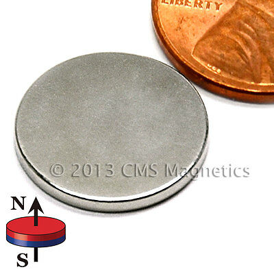 100 Count N45 Neodymium Magnet Disk Dia 58x116 With 3m Adhesive On North