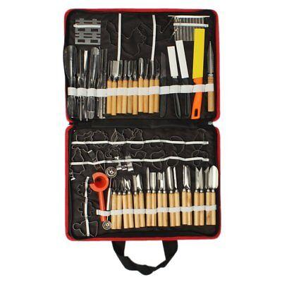 80pcs Professional Pumpkin Engraver Carving Tool Kit Set Carve Knife Kitchen (Pumpkin Carving Knife)