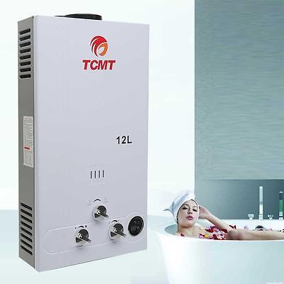 12L 3.2GPM LPG Gas Tankless House Instant Boiler Hot Water Heater