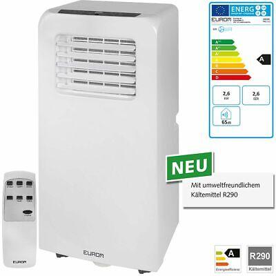 Eurom PAC 9.2 Raumklimagerät 2,6 kW mobile Klimaanlage Klimagerät 380385