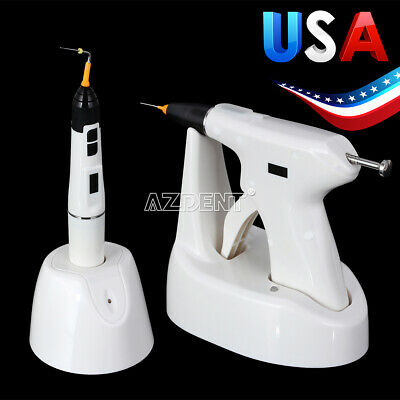 Usa Dental Endo Obturation System Gun Heated Pen Percha Gutta With Tips Sy-fill