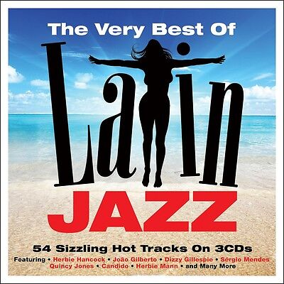 Very Best Of Latin Jazz VARIOUS ARTISTS 54 Essential Songs MUSIC New Sealed 3