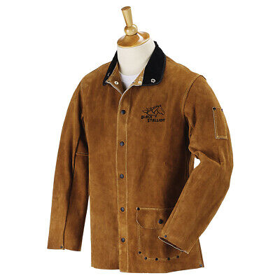 Revco Black Stallion Split Cowhide 30 Welding Jacket 30wc Size Medium