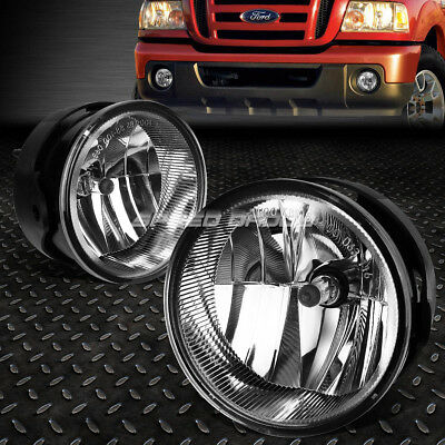 FOR 08 11 RANGER07 14 EXPEDITION CLEAR LENS OE BUMPER DRIVING FOG LIGHT LAMP