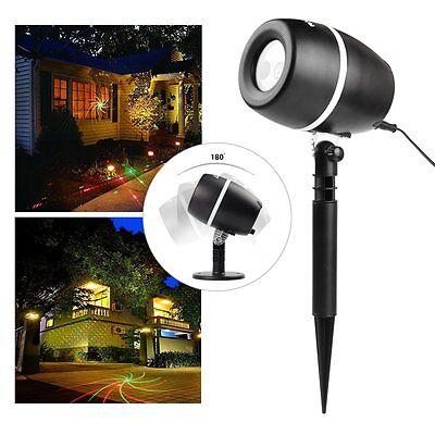 Gartenlicht LED Laser Projektor Innen Außen Beleuchtung innen/außen IP65 Leuchte