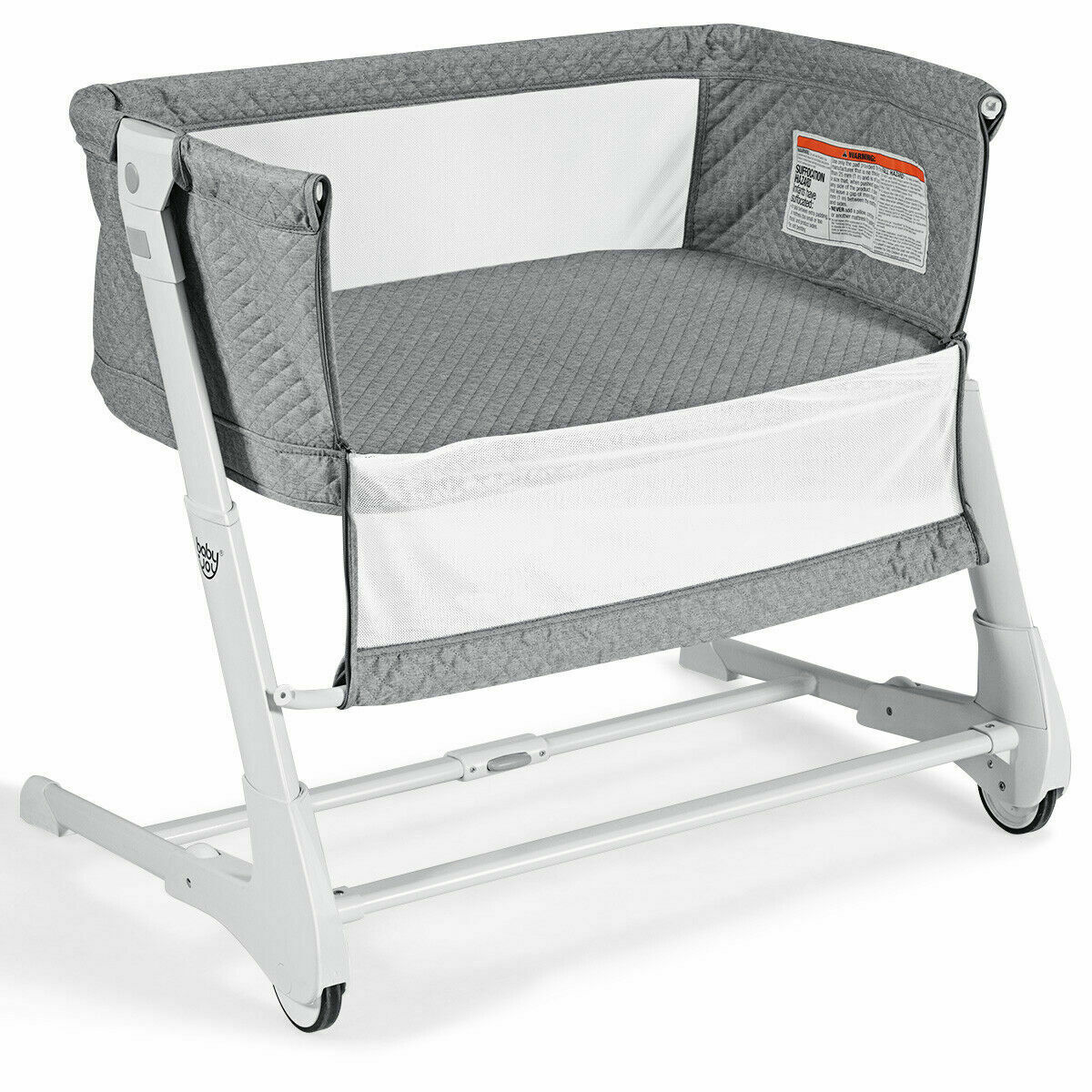 Baby Bassinet Bedside Newborn Sleeper Portable Bed Travel Cr