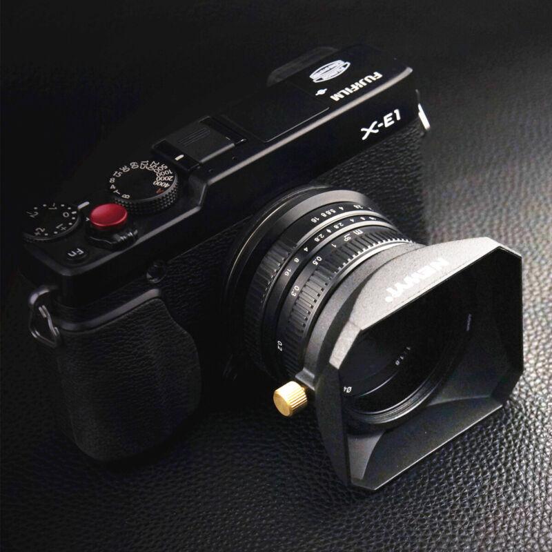 Square Len Hood for Sony Fuji Olympus Camera 37 39 40.5 43 46 49 52 55 58