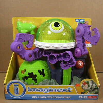 Imaginext Ion Alien Headquarters Playset by Fisher Price - New in Box w/ Figure