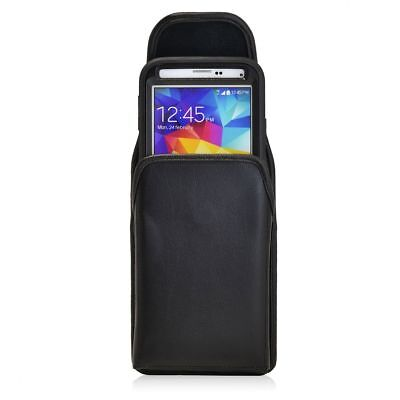 Samsung Galaxy S5 Vertical Holster Pouch Metal Belt Clip Fits Lifeproof Case (Lifeproof Case Samsung Galaxy S5)