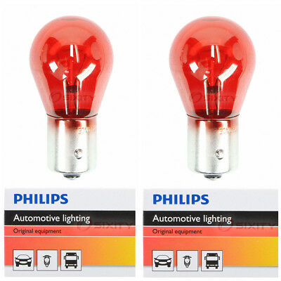 (Two Philips HiPerClick Halogen Light Bulb 12088C1 for 12088 PR21W 12V 21W mr)
