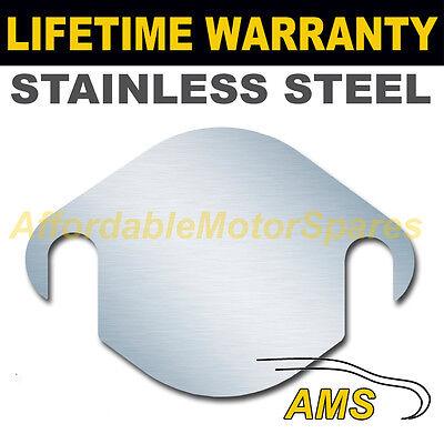 BMW 7 SERIES EGR EXHAUST VALVE BLANKING PLATE 1.5MM 3MM MILD STEEL STAINLESS