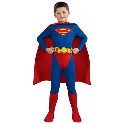 Superman Costume Kids Halloween Fancy - Childrens Halloween Dress Up