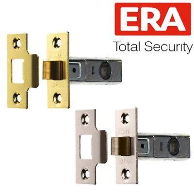 QUALITY BRASS/SILVER TUBULAR LATCH 64mm 76mm Internal Mortice Door Handle Catch