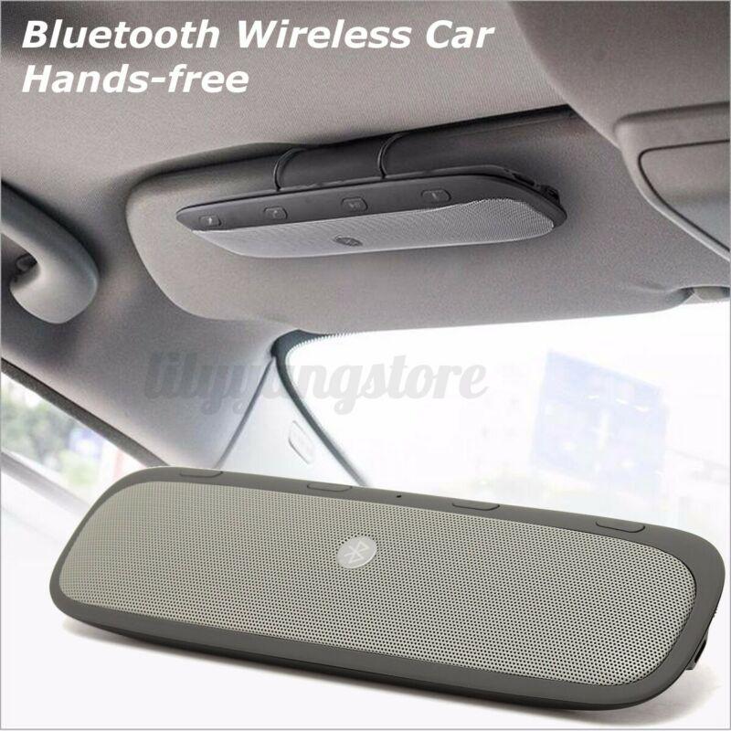 Wireless bluetooth Handsfree Car Auto Kit Speakerphone Speaker for MP3 Phone