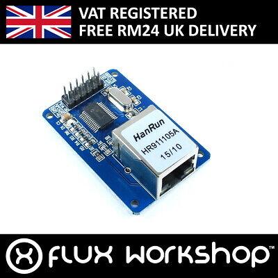 ENC28J60 Ethernet Lan Modulo Arduino Spi 25Mhz 5 3.3V uno MEGA2560 Flux Officina comprar usado  Enviando para Brazil