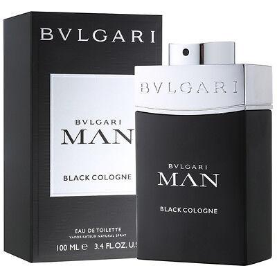 BVLGARI MAN BLACK COLOGNE for men 3.3 / 3.4 oz 100 ml edt NEW IN BOX