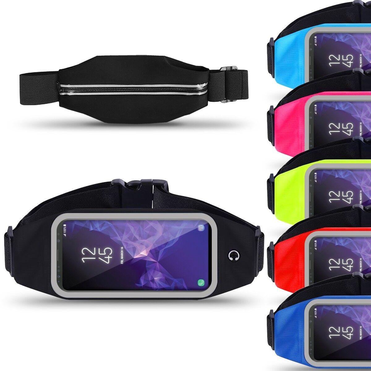 Samsung Galaxy S9 Bauchtasche Sport Tasche Jogging Hülle Handy Lauf Bag Fitness