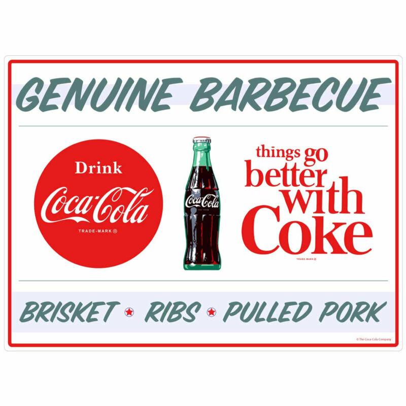 Coca-Cola Genuine BBQ TGBWC Decal Peel & Stick Wall Graphic