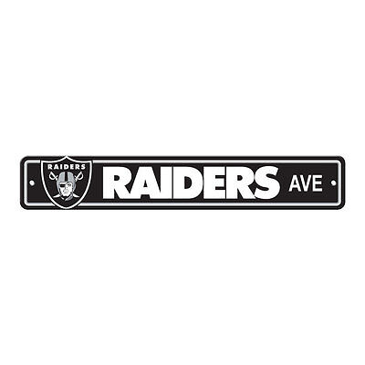 New NFL Oakland Raiders Home Decor AVE Street Sign 24