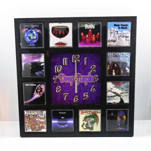 Deep Purple Rock Band Wall Clock