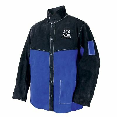 Revco Black Stallion Color Block Leather Welding Jacket
