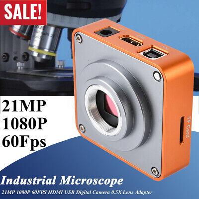 21mp 1080p 60fps Hdmi Usb 0.5x Industrial Microscope Digital Camera Koppace