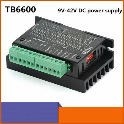 Stepper Motor Driver Tb6600 4a 9-42v Nema 17 Stepper Motor Driver Cnc Controller
