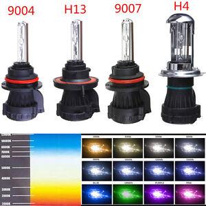 2X H4 H13 9004 9007 35W 55W HID Bi Xenon Dual Beam HI LO