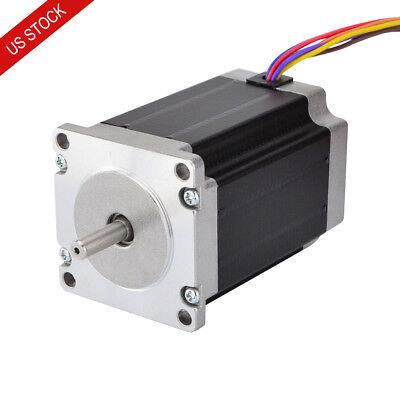 Nema 23 Stepper Motor 1.8deg 2.83nm 400oz.in 4a 2.26v 8 Wires Cnc Reprap Robot