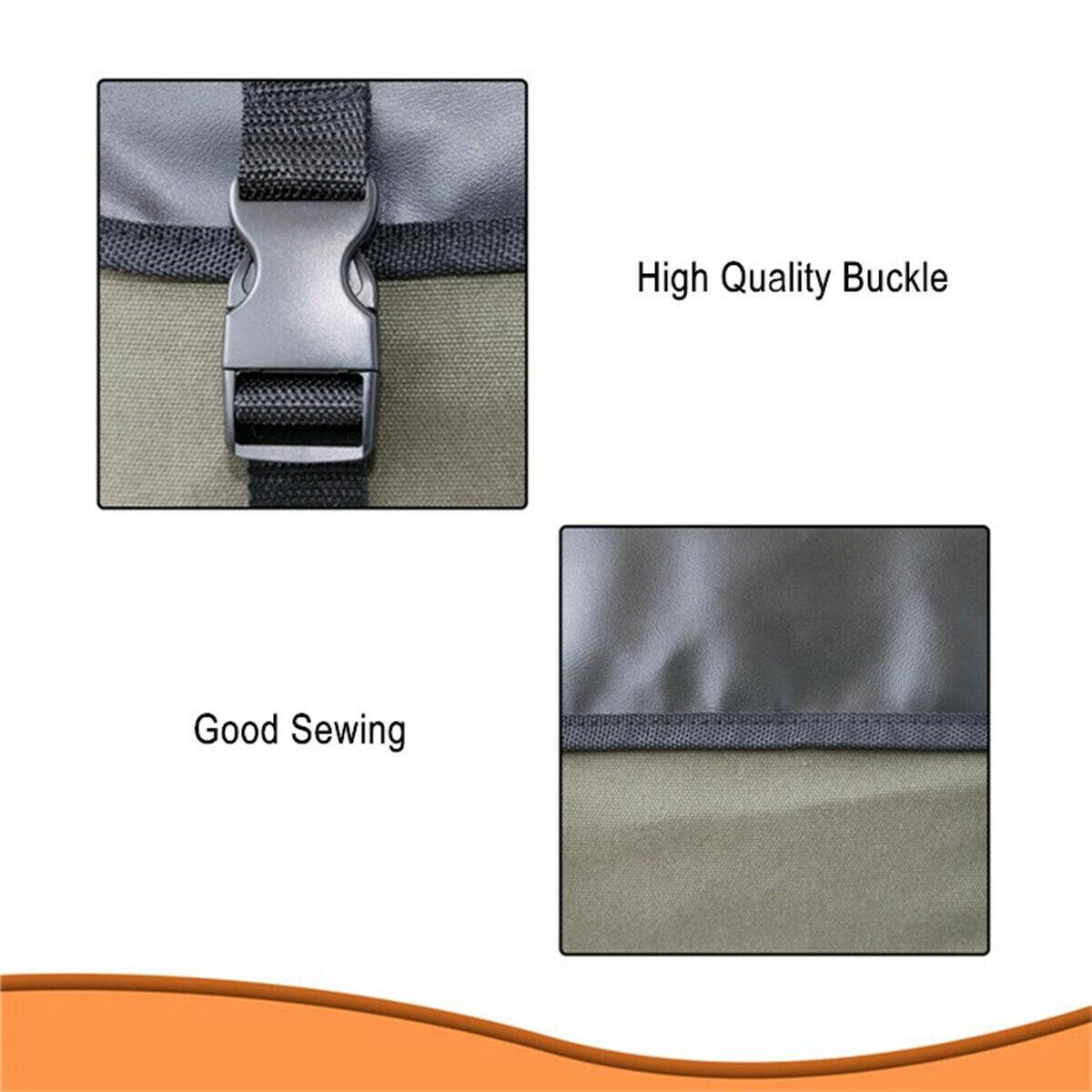 ::Waterproof Saddlebags Motorcycle Rear Rack Tail Seat Side Saddle Bag Luggage