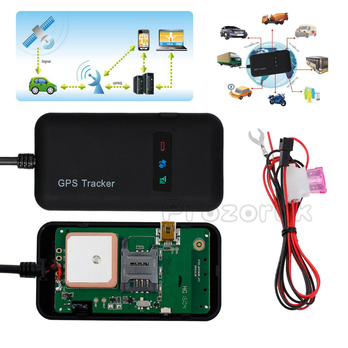 mini realtime gps car tracker locator gprs gsm tracking. Black Bedroom Furniture Sets. Home Design Ideas