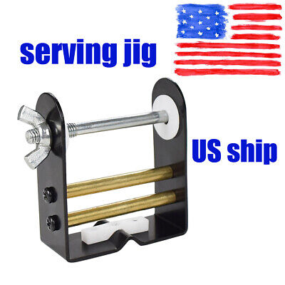 1 SPOOL OF SERVING Archery Bowstring Tool COMBO TORNADO BOW STRING SERVING JIG