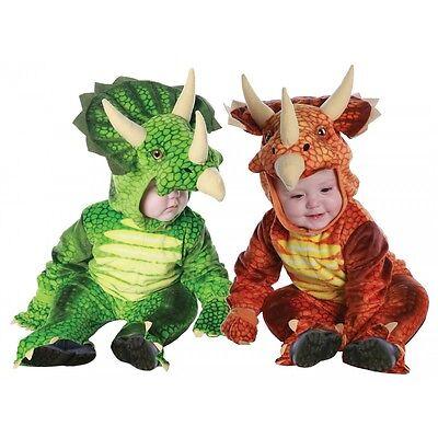 Dinosaur Costume Baby Toddler Kids Triceratops Halloween Fancy Dress (Toddler Costumes Halloween)
