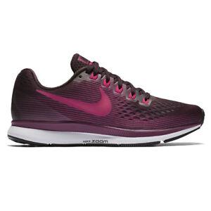 eb17cd3959801 WMNS Nike Air Zoom Pegasus 34 Port Wine Pink Women Running Shoes ...