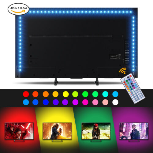 LED TV Backlight Powered RGB USB LED Strip Lights for 40 to