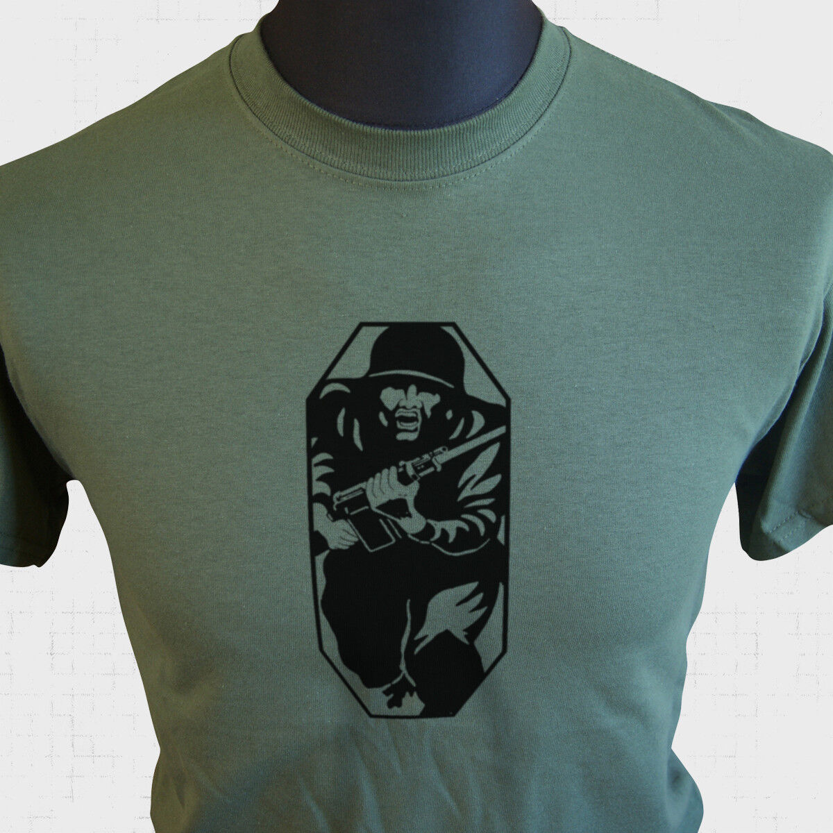 Airsoft Team 1 T-shirt Funny Gift Paintball Mens Fathers day  Army Combat