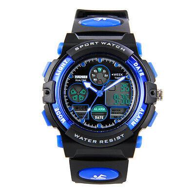 Hiwatch Lass Boy Kid Sports Watches Waterproof Electronic Wrist Watch for Youth