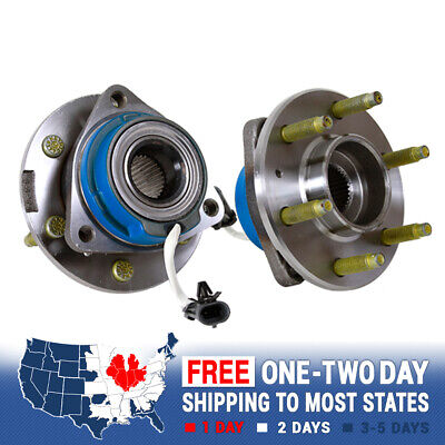 2 Front Wheel & Hub Bearing Assembly For Terraza Uplander Montana Relay AWD covid 19 (Saturn Relay Awd coronavirus)