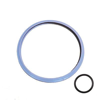 1+1 22cm Silicone Sealing Gasket Valve O-Ring for Fissler Vitavit Royal Pressure
