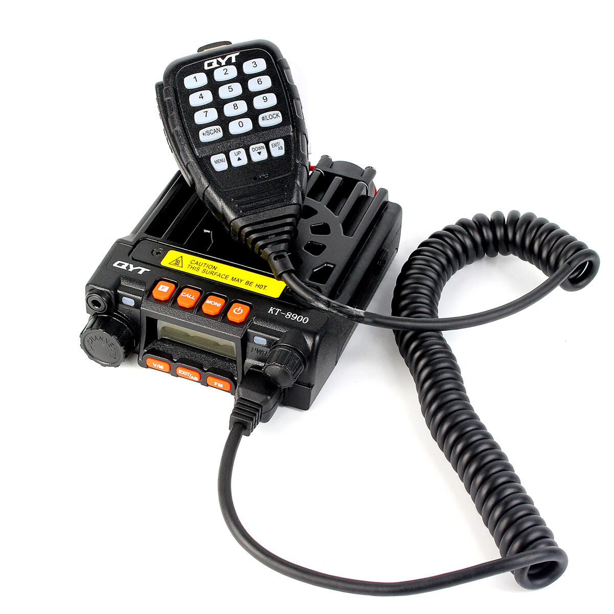 Mobile Car Radio Dual Band Vehicle Transceiver Uhf Vhf 20 25w Dtmf Remote Control Using Receiver Scrambler Uk
