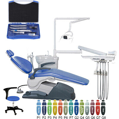 Dental Tooth Treatment Unit Chair Computer Controlled W Lowhigh Handpiece Kit