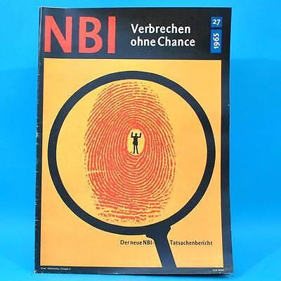 NBI 27/1965 DDR Chemnitz Karl-Marx-Stadt Stuttgart Berlin-Alexanderplatz Kuba L
