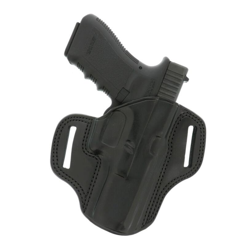 Galco Combat Master Belt Holster Glock 17 Gen 1-5 Black Right Hand - CM224B