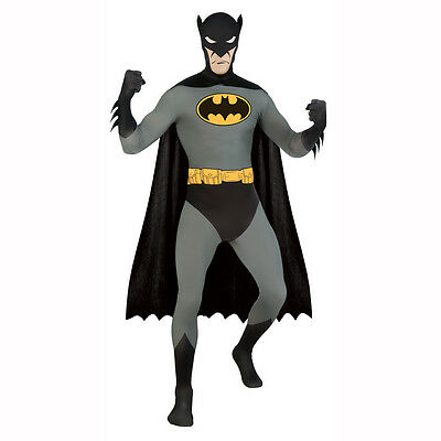 Classic Batman 2nd Skin Full Body Spandex Zentai - Zentai Kostüme Batman